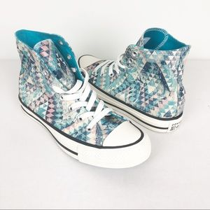 Converse Sneakers | NEW Geometrical High-Top | 6